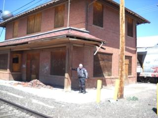 Me at the Craig Depot April 2012